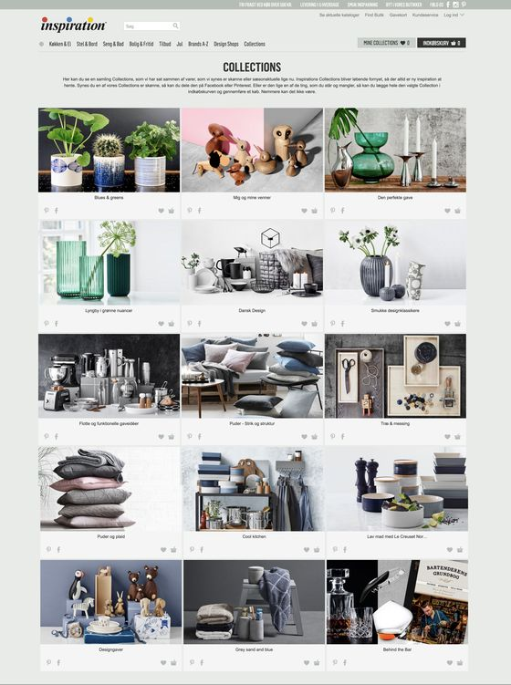 Collections fra Inspiration
